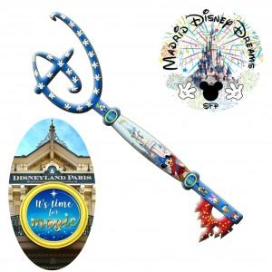 Llave Reapertura Disneyland Paris